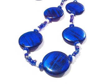 I Got the Blues necklace