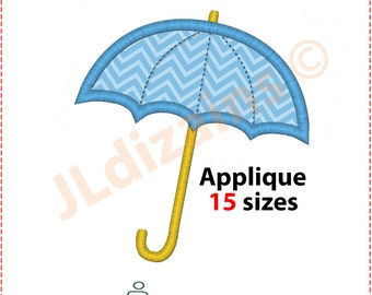 Umbrella Applique Design. Umbrella embroidery design. Embroidery applique umbrella. Embroidery designs umbrella. Machine embroidery design