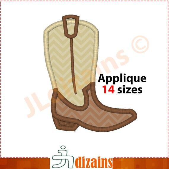 diseño de la aplicación bota de vaquero. diseño de la por JLdizains