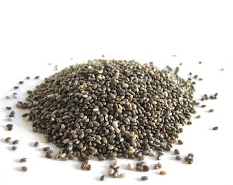 Organic Chia Seeds Whole Omega Fatty Acids Premium Quality Grown In Bolivia Organic Herbs Herbal Remedies Tea Organic Snacks Superfoods