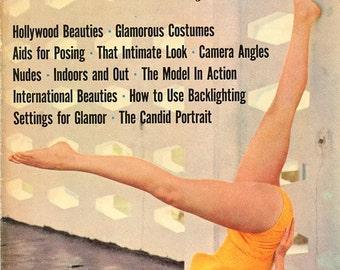 Photo Study Techniques  by Sam Wu  1960  Magazine  Hollywood Beauties  Natalie Wood  Anita Ekberg   Models Starlets  Actresses  Movie Stars