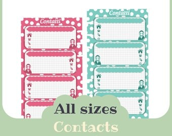 refill contacts - Printable -