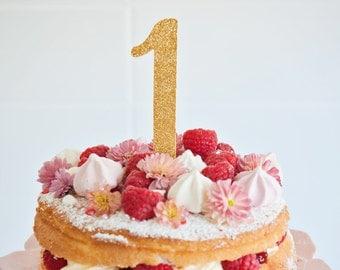 Number Cake Topper, Birthday Cake Topper, Age Cake Topper