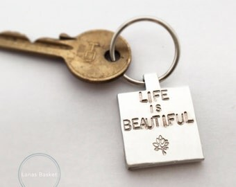 Life Is Beautiful - Keyring
