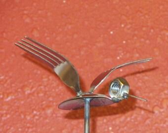 Spoon/fork hummingbird (on rod)