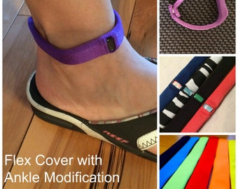 Fitbit Flex 1 Band Cover for your ankle, Flex1 sleep band, Wearable Tech Jewelry