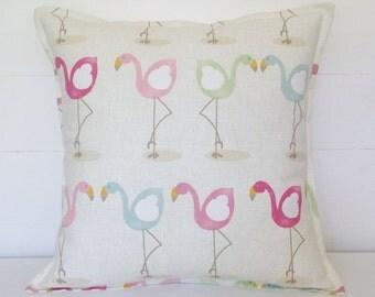 Flamingos Cushion Cover, Flamingos Pillow Cover