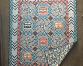 Dream on, Man quilt pattern by Sugar Sisters Design