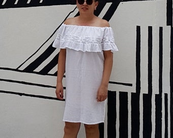 SALE! Off Shoulder Mexican Dress PLaya