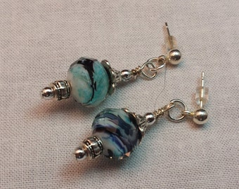 Lightweight Blue Earrings