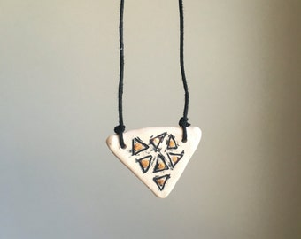 Handmade essential oil diffuser necklace