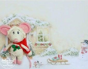 Little Christmas Mouse - PDF pattern