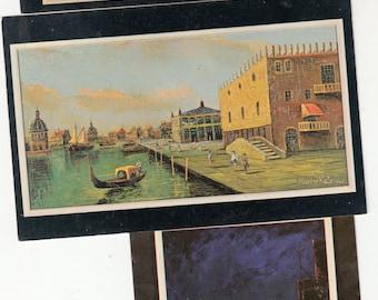Lot 6 Circa Mid 1960s Postcards Of Morris Katz's Paintings Unique Variety, Unused
