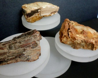 Design A Tree! Petrified Wood Base For Copper Tree of Life Sculpture - Customize Your Piece! Reiki Healing Crystals