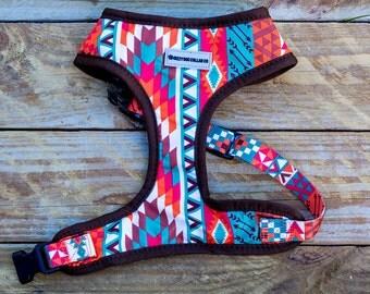 Aztec Dog Harness, Tribal Dog Harness, Dog Collars Australia