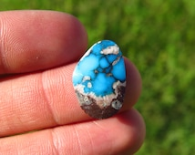 All-Natural Bisbee Turquoise Cabochon