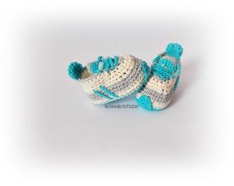 crochet baby sneakers, newborn sneakers ,crochet baby shoes, Baby Converse, baby sneakers , baby booties,crochet baby boots, crochet sneaker