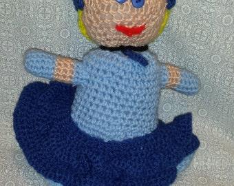 Hand Crocheted Cinderella Doll