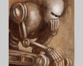 Robot Thinker - Fun Print