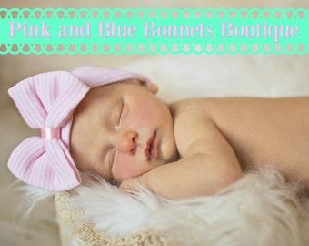 Newborn girl hat, newborn hospital hat, girl newborn hat, hat for newborn girl, newborn hat