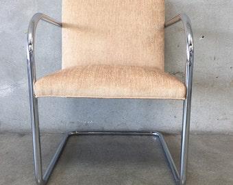 Modern Chrome Arm Chair (2FLSHQ)