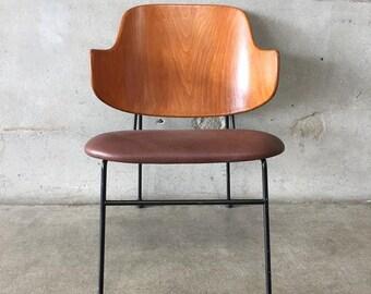 Kofod Larsen Vintage Danish Modern 1B Penguin Chair (FKTNLR)