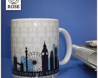 Mug - Sherlock | high-functioning sociopath