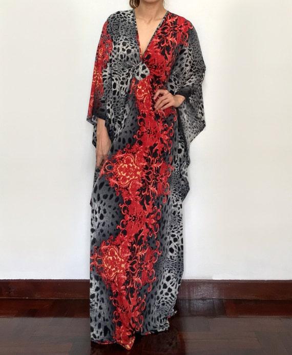 plus size maxi kaftan dresses black red dress baby shower wedding