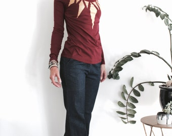 Sweatshirt Jumper Long Sleeve Top made from Organic Cotton and Eco Friendly Ink