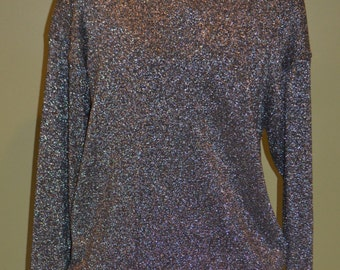 Adrienne Vittadini Two Piece Glittery Top and Skirt