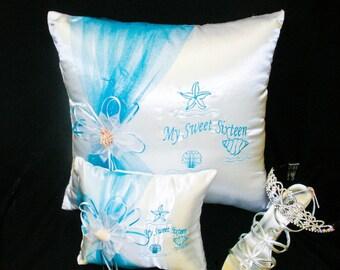 Under-The-Sea Ceremony Pillow Set