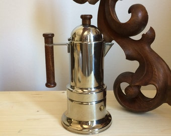 VEV Vigano stovetop espresso coffee maker stove top pot moka express percolator italian stainless steel machine mocha manual brew percolator