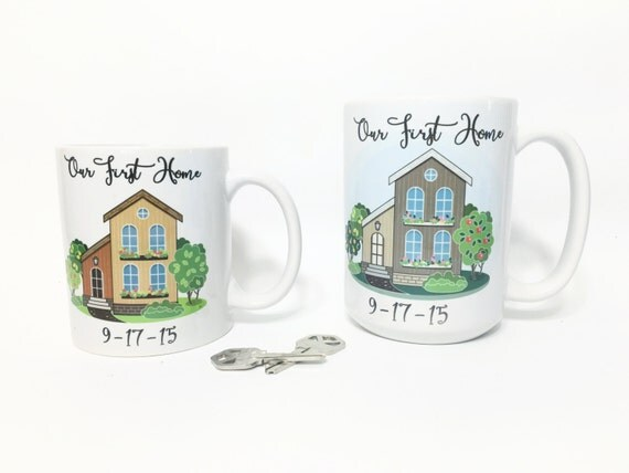First Home Gift Housewarming Gift House Closing By Ohlolaandco