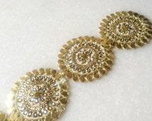 Gota trim, gota lace, gota patch, patti,Indian Trim, Saree border,dress decor, dress border