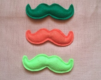St. Patricks Day Mustache Cat Toy - Catnip Holiday Irish Kitty Toy
