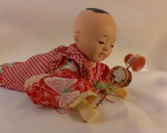 Oriental Boy Doll with Traditional Dress (729)