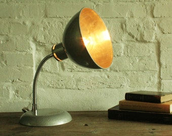 Mid Century Stephen Glover desk / heat lamp, converted with P.A.T test