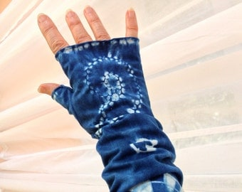 Fingerless Gloves, Long Armwarmers