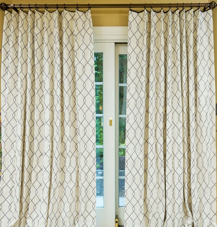 Rico Fabric Curtains Linen Curtains Embroidery Geometric