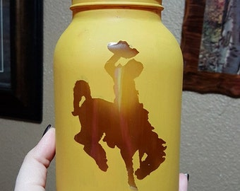 Wyoming Cowboy Lantern