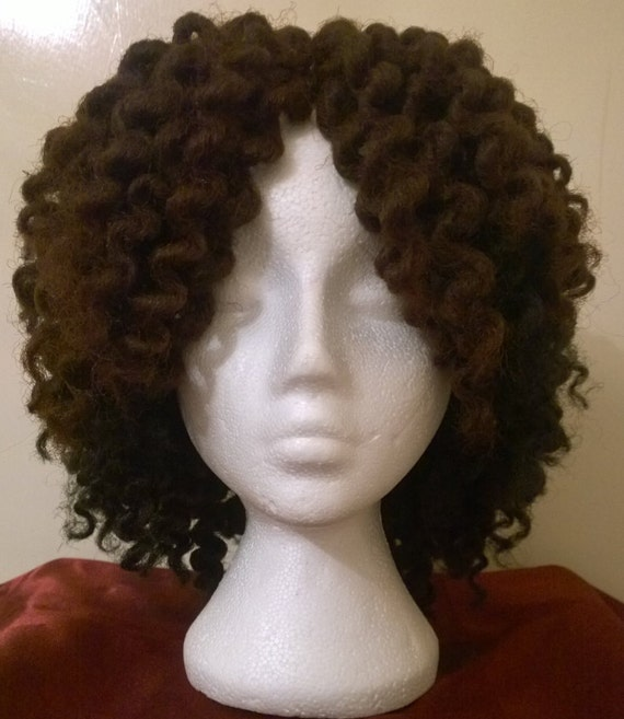 Crochet Braids On A Wig Cap : MARLEY BRAIDS, Twist Out, Hair, Crochet wig, wigs, wig, secure, cap ...