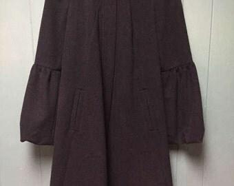 Diane Von Furstenberg Bell sleeve coat size 6 small or medium