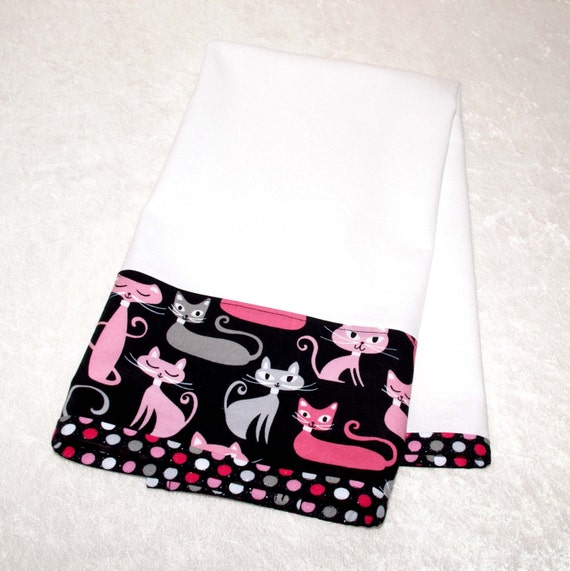 Cat Themed Kitchen Towels: Items Similar To Flour Sack Kitchen Towel • Cat Dish Towel