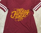 KC Chiefs - Sunday Funday Vintage Tshirt