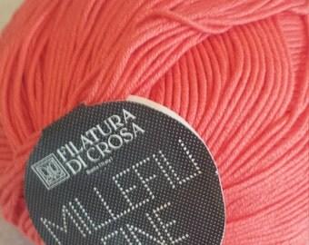 Millefili Fine by Filatura Di Crosa Coral   Color 108