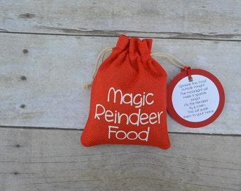 Magic Reindeer Food Bag