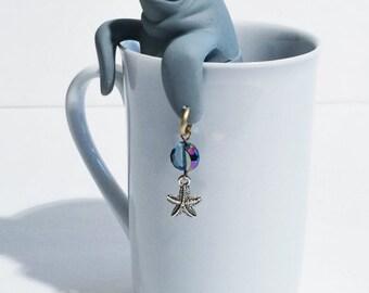 Manatee Tea Infuser, Tea Ball, Ocean Tea infuser