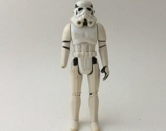 Vintage Star Wars stormtrooper action figure, Hong Kong stormtrooper, vintage stormtrooper, Hong Kong Star Wars, 1977 stormtrooper