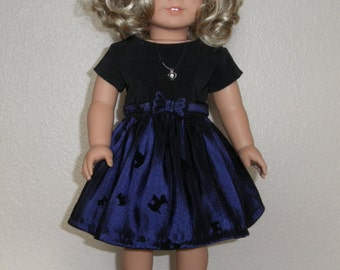 """Scottie Dress Made for American Girl or other 18"""" doll"""