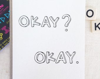 Love Card, Valentines  Day Card, FAULT in OUR STARS - Anniversary Card, Boyfriend Card, Card for Her Card for Him